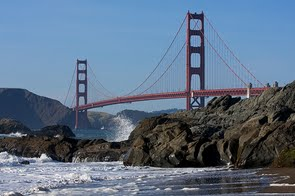 Golden Gate in San Francisco, California